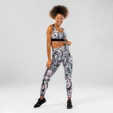 Legginsy do tańca i fitnessu damskie