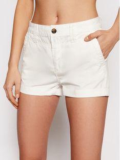 Pepe Jeans Szorty materiałowe Balboa PL800629 Biały Regular Fit