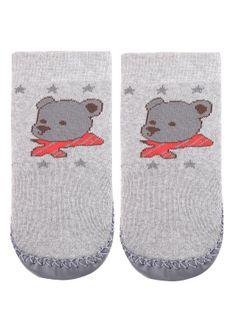 Skarpetki Ze Skórzaną Podeszwą Home Socks Chłopięce Marilyn