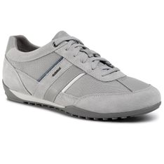 Sneakersy GEOX - U Wells C U52T5C 02214 C1010 Lt Grey