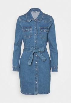 ONLY - Sukienka jeansowa - niebieski denim