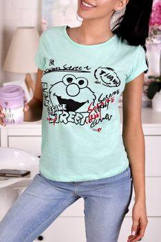 T-shirt damski HERTANA MINT