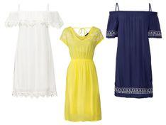 ESMARA® Sukienka damska z wiskozy, 1 sztuka