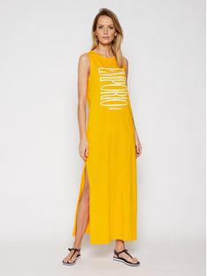 Emporio Armani Sukienka plażowa 262635 1P340 15362 Żółty Regular Fit