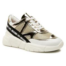 Sneakersy LOVE MOSCHINO - JA15323G1CIX190A  Pla/Mixa