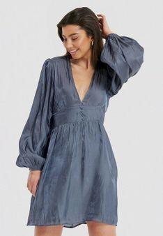 NA-KD - Sukienka koktajlowa - niebieski