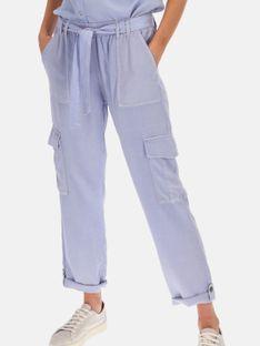 Materiałowe spodnie z podwijanymi nogawkami Red Button 2805A.BELLE.LAVEN.
