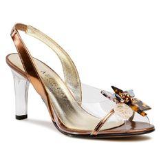 Sandały AZURÉE - Malaba 01TC01  Miroir Cuivre 01