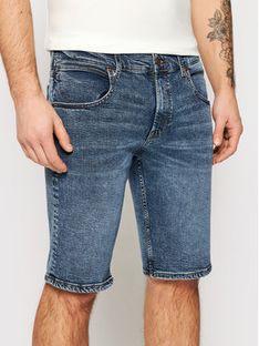 Wrangler Szorty jeansowe Colton W15VJP251 Granatowy Regular Fit