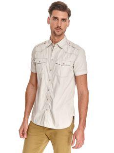 Koszula z kieszeniami o dopasowanym kroju