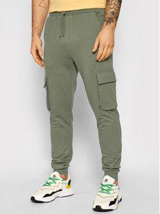 ONLY & SONS Spodnie dresowe Kian 22019485 Zielony Regular Fit