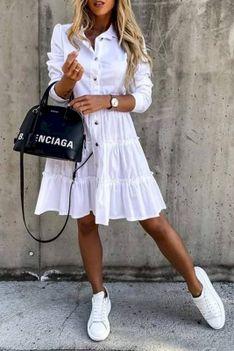 Sukienka DEMELZA WHITE
