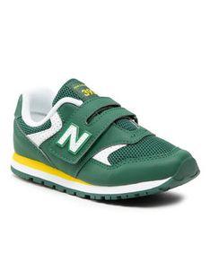 New Balance Sneakersy YV393BGR Zielony