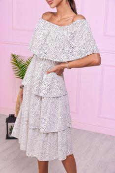 Sukienka PALEDA WHITE