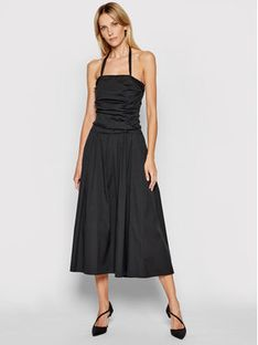 Marella Sukienka codzienna Adler 32210112 Czarny Regular Fit