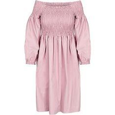 Sukienka Tova bez wzorów oversize casualowa