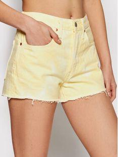 Levi's® Szorty jeansowe 501® Original 56327-0197 Żółty Regular Fit