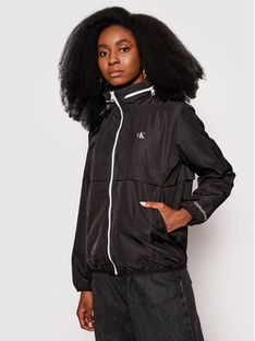 Calvin Klein Jeans Kurtka przejściowa J20J215302 Czarny Regular Fit