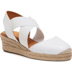 Sandały damskie Unisa na lato tkaninowe