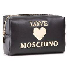 Kosmetyczka LOVE MOSCHINO - JC5307PP1CLF0000 Nero