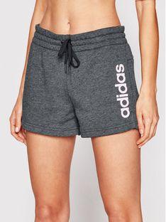 adidas Szorty sportowe Essentials Logo GM5529 Szary Slim Fit