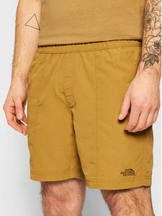The North Face Szorty materiałowe Class V Pull On NF0A48TK Zielony Regular Fit