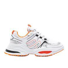 Białe obuwie sportowe damskie Catalina