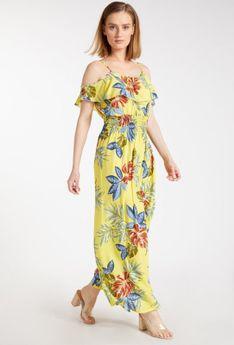 Zwiewna sukienka maxi