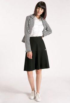 Elegancka spódnica z plisami