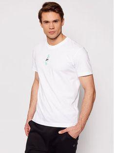 Calvin Klein Jeans T-Shirt J30J318304 Biały Regular Fit