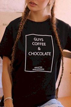 T-shirt damski ELFRIEDA BLACK