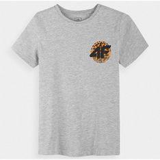 Koszulka chłopięca HJL21 JTSM012 4F