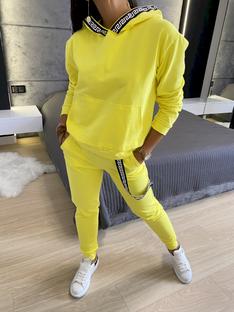 Żółty Dresowy Komplet 5717-403-E