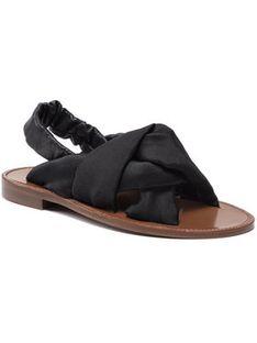 Pinko Sandały Glicine Sandalo. PE 21 BLKS1 1H20UG Y732 Czarny