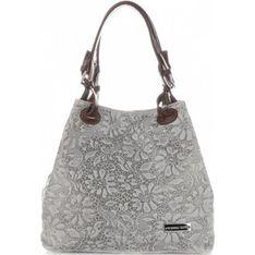 Shopper bag Vittoria Gotti szary