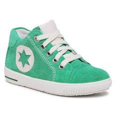 Sneakersy SUPERFIT - 1-000348-7000 S  Grün/Weiss