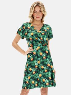 Sukienka z motywem ananasów Smashed Lemon 21098-530-150