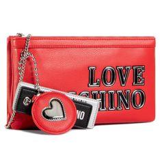 Torebka LOVE MOSCHINO - JC4237PP0BKG0500  Rosso