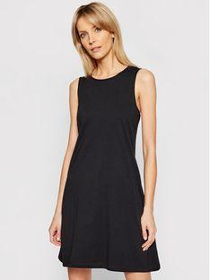 CMP Sukienka codzienna 30D6516 Czarny Regular Fit