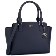 Torebka LACOSTE - M Shopping Bag NF2594DC  Peacoat
