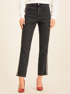 Guess Jeansy The It Girl W01A35 D3Y21 Szary Skinny Fit