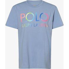 Bluzka damska Polo Ralph Lauren z krótkim rękawem wiosenna z okrągłym dekoltem