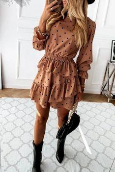 Sukienka MENARDA BROWN