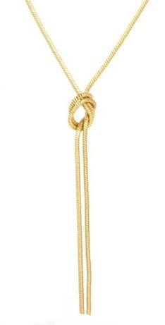 Naszyjnik z węzłem