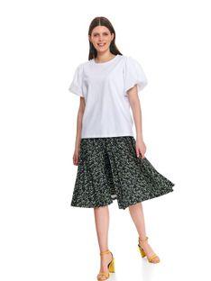 T-shirt krótki rękaw damski  gładki