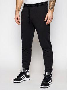 Calvin Klein Jeans Spodnie dresowe J30J317196 Czarny Regular Fit
