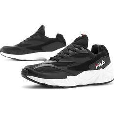 Buty sportowe damskie Fila do fitnessu gładkie skórzane młodzieżowe wiązane na platformie