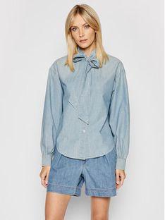 Lauren Ralph Lauren Koszula 200832026001 Niebieski Regular Fit