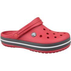 Klapki Crocs Crockband Clog U 11016-6EN czarne czerwone