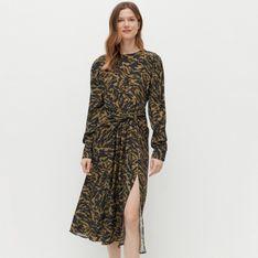 Reserved - Sukienka z EcoVero™ - Zielony